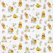Fabulous Fabrics Disney Winnie Puuh Dada Weiss —