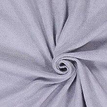 Fabulous Fabrics Frottee Stretch 10 Silbergrau —