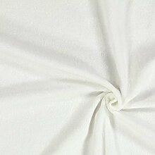 Fabulous Fabrics Frottee Stretch 12 wollweiss —