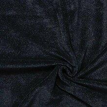 Fabulous Fabrics Frottee Stretch 13 schwarz —
