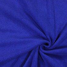 Fabulous Fabrics Frottee Stretch 18 königsblau