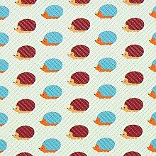 Fabulous Fabrics Popeline Igel – wollweiss —