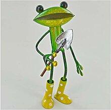 Fabulous grün Metall Garten Frosch mit