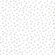 Fabulous World Tapete Vlies Dots Weiß Grau