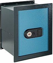FAC 104-IE Evolution P/A - Elektronischer Tresor, mit integriertem System, Farbe blau