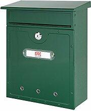 FAC Kantabrischer Briefkasten, Farbe grün