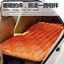 FACAI888 Automovil Autos aufblasbares Bett Luftmatratze multifunktionales Fahrzeug reisen Luftmatratze , coffee color
