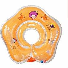 FACAI888 Baby aufblasbaren Ring Schwimmer schwimmen , (42*42cm) orange