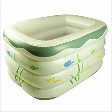 FACAI888 Baby-aufblasbares Schwimmbecken / Planschbecken Baby / Kleinschwimmbecken / aufblasbaren Pool