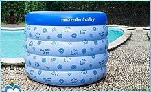 FACAI888 Baby baby aufblasbare Schwimmbecken / Babybecken / aufblasbaren Pool rund / blau