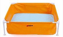 FACAI888 Babybecken / Kinder aufblasbaren Halterung Pool / Babybecken Badewanne / gelb