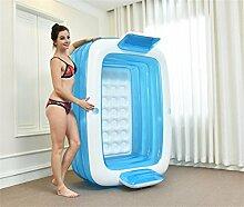 FACAI888 Home Doppeltes aufblasbares Bad / erwachsene Badewanne / dicke klappbare Badewanne / Plastikwäsche-Wanne - Kinderpool