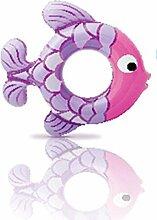 FACAI888 Kinder aufblasbare Fische schwimmen ring