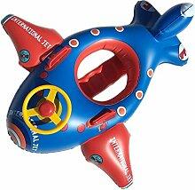 FACAI888 Kinder aufblasbares Flugzeug Halterungen , red blue