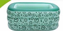 FACAI888 Platz trizyklischen Baby aufblasbares Schwimmbecken / aufblasbaren Pool / aufblasbare Badewanne / grün