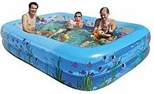 FACAI888 PVC-aufblasbare Schwimmbecken/pool , 305x183x60cm