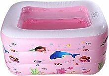 FACAI888 PVC square aufblasbare Schwimmbecken/pool , pink