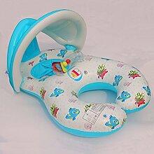 FACAI888 Spaß aufblasbaren Ring Schwimmer schwimmen , (100*70cm) has a