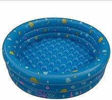 FACAI888 Tricyclic Runden PVC Aufgeblasen Schwimmbad (blau, grün, 80 * 28cm, 94 * 38cm) , blue , xl