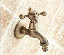 FACAIBA Wasserhahn Garten Wasserhahn Antik Bronze