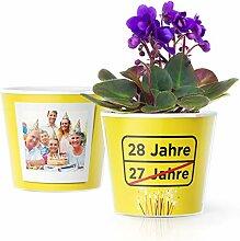 Facepot 28.Geburtstag Geschenk - Blumentopf