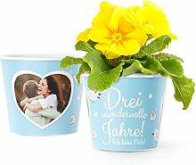 Facepot 3 Hochzeitstag Geschenk Blumentopf