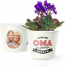 Facepot Enkel Oma Geschenk - Blumentopf (ø16cm)