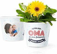 Facepot Oma Enkel - Blumentopf (ø16cm) -