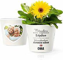 Facepot Oma Geschenkideen - Blumentopf (ø16cm)