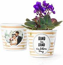 Facepot Sprüche zur Hochzeit - Blumentopf