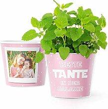 Facepot Tante Geschenke Blumentopf (ø16cm) |
