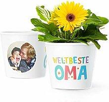 Facepot Weltbeste Oma Geschenk - Blumentopf