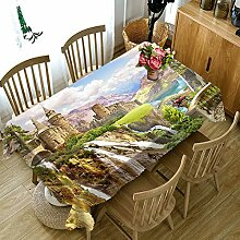 FaceToWind Draußen Tischdecke Cofffee Dining