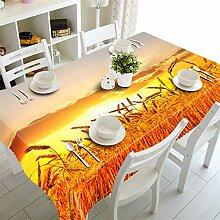 FaceToWind Gelbe Tischdecke Kaffee Esstisch