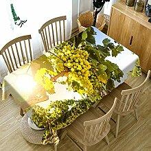 FaceToWind Küchentischdecke Runde Tischdecke