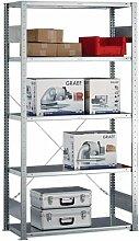 Fachbodenregal Stecksystem HxBxT 2500x1000x400mm,