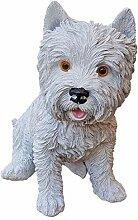 Fachhandel Plus Deko-Figur West Highland Terrier