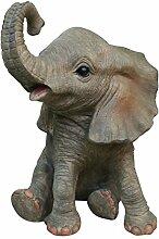 Fachhandel Plus Niedliche Dekofigur Elefant