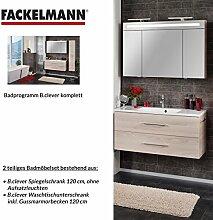 Fackelmann Badmöbel Set B.Clever 2-tlg. 120 cm