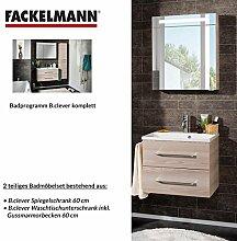 FACKELMANN Badmöbel Set B.Clever 2-tlg. 60 cm