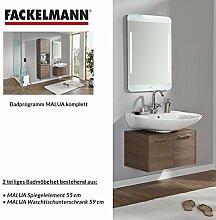Fackelmann Badmöbel Set Malua 2-tlg. 60 cm Eiche