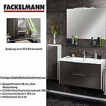 Fackelmann Badmöbel Set Scera 4-tlg. 100 cm weiß