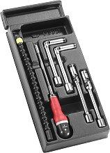 Facom Kunststoffmodul - Werkzeuge für Arbeiten an Diesel-glühkerzen   6-tlg