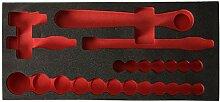 Facom PM. mods161–3Tablett Schaumstoff,