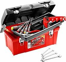 Facom TBX1M.PG Polypropylen-Koffer + 18 Werkzeuge