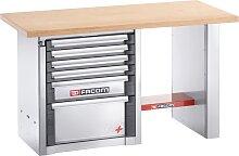 Facom Werkbank für schwere Lasten | 6 Schubfächer | 1,5 m lang