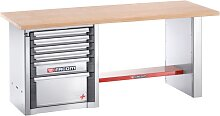 Facom Werkbank für schwere Lasten | 6 Schubfächer | 2 m lang