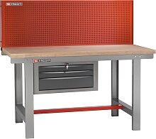 Facom Werkbank mit Werkzeugtafel für Wartungsarbeiten | 1,5 m lang