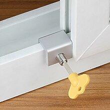 FADDR 8 STÜCKE Tür Fenster Lock Stopper