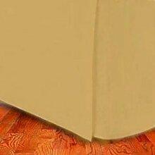 Fadendichte 300ägyptische Baumwolle King (US Queen) Bett Rock Gold durch marrikas